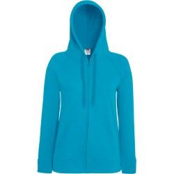 F.O.L. | Lady-Fit LW Hooded Sweat Jacket