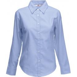 F.O.L. | Lady-Fit Oxford Shirt LSL